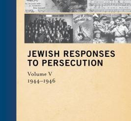 Jewish Responses to Persecution by Leah Wolfson