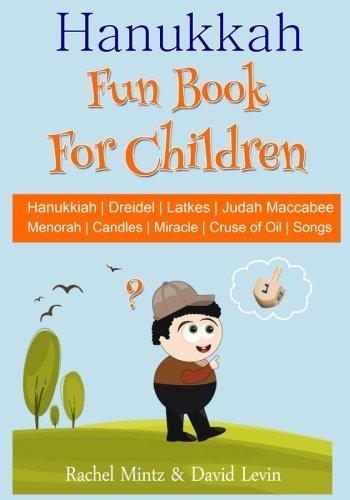 Hanukkah Fun Book For Children by Rachel Mintz