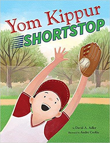 Cover for Yom Kippur Shortstop by David A. Adler