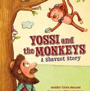 Yossi and the Monkeys: A Shavuot Story by Jennifer Tzivia MacLeod