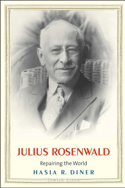Cover for Julius Rosenwald: Repairing the World by Hasia R. Diner