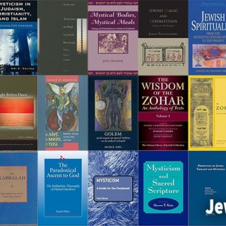 Covers of Kabbalah related books