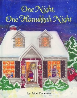 One Night, One Hanukkah Night by Aidel Backman