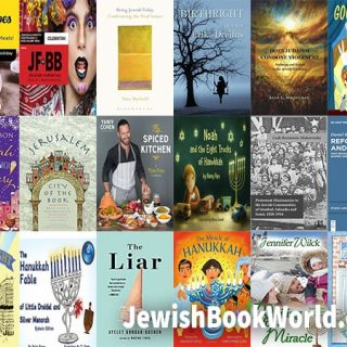 Covers of Books posted on JewishBookWorld.org in December 2019