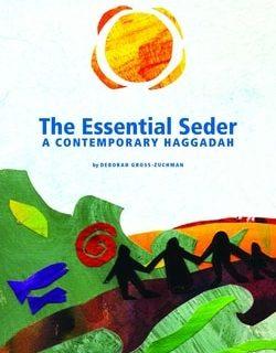 The Essential Seder: A Contemporary Haggadah by Deborah Gross-Zuchman