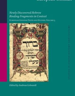 European Genizah; Editor: Andreas Lehnardt