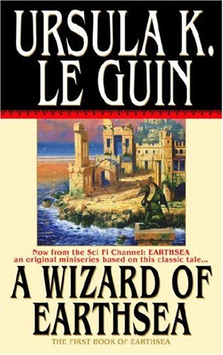 Cover of Ursula Le Guin's A Wizard of Earthsea