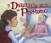 Poster for A Different Kind of Passover by Linda Leopold Strauss and Jeremy Tugeau